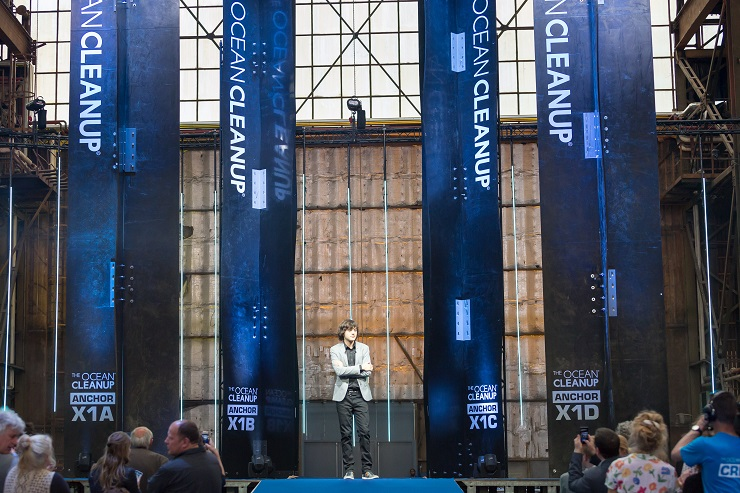 The Ocean Cleanup Announces Pacific Cleanup to Start in 2018The Ocean Cleanup Announces Pacific Cleanup to Start in 2018