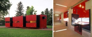 Home-building from a Shipping Container