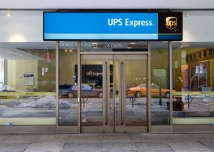 UPS Express Freight Service