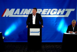 Mainfreight NZ CEO Don Braid