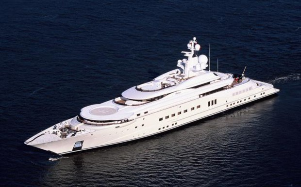 Eclipse, the most expensive yacht in the world