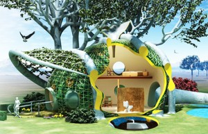 The Edible full-sized treehouse: Fab Tree Hab