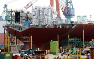 Korean shipbuilding industry hopeful post Japan quake