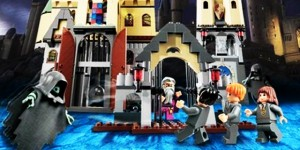 Lego's Light-savers: Harry Potter, Darth Vader, Indiana Jones