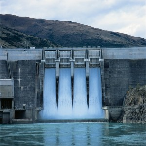 Contact Energy's Clyde Hydro Power Station
