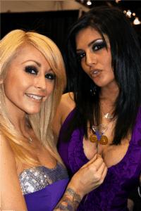 Sunny Leone, Monique Alexander, Vivid Vodka Girls
