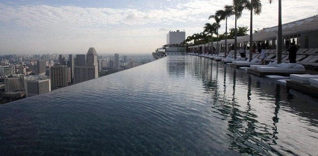 Swim in Bliss – 55 stories high! Marina Bay Sands' Infinity Pool