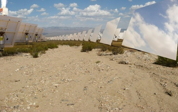 Google Goes Green; invests in solar power tower Ivanpah