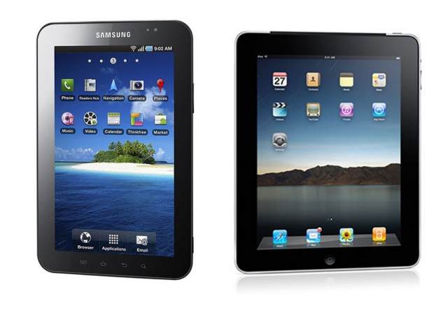 Apple claims Galaxy Tab copied from iPad; Sues Samsung