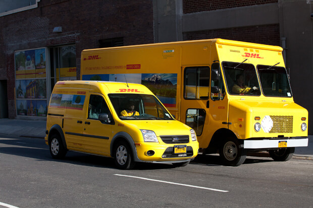 DHL's Green Fleet Introduced in New York