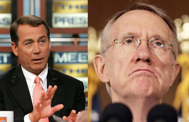Harry Reid v/s John Boehner: the looming U.S Government shut-down
