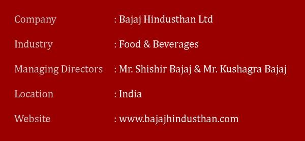 Key Information about Bajaj Hindusthan Ltd.