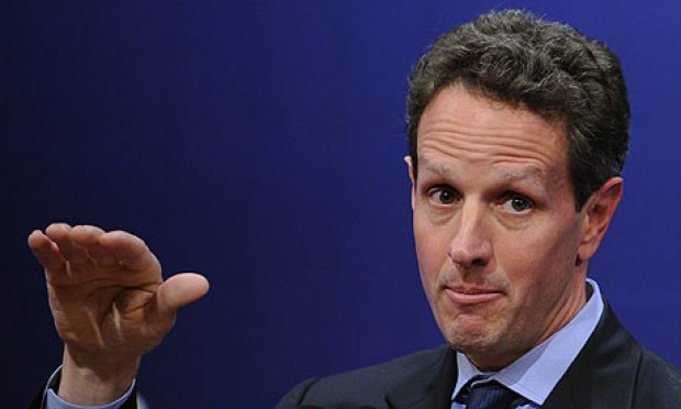 Timothy Geithner: Raise U.S Debt Ceiling or Risk Default