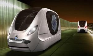 Personal Rapid Transit System in Masdar City