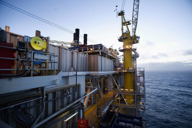 Grane platform in the Norwegian Sea, operated by Statoil