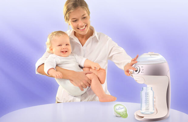 Press Button. Feed Baby: Nestle's Controversial Luxury Baby Formula BabyNes