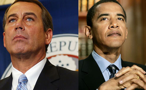 Obama, Republicans Deadlocked over Debt Ceiling & Spending Cuts