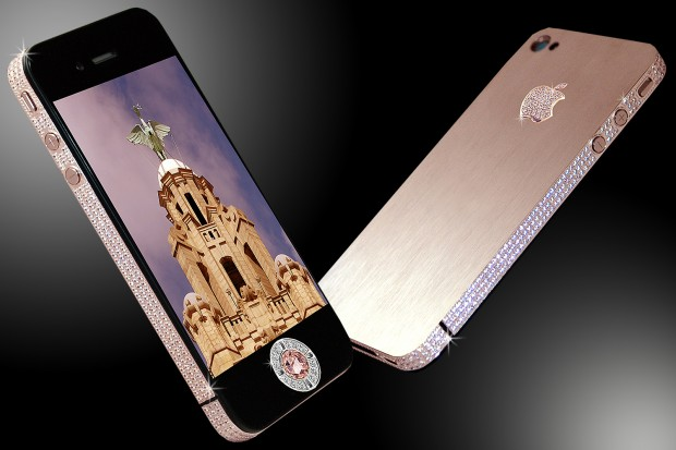 The multi million-dollar super-sparkly iPhone 4 by Stuart Hughes