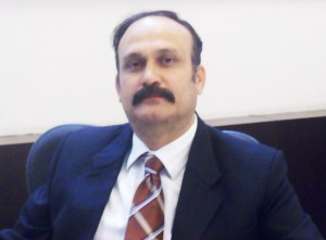 Mr. Mukesh Jaitley, COO, Ahuja Constructions