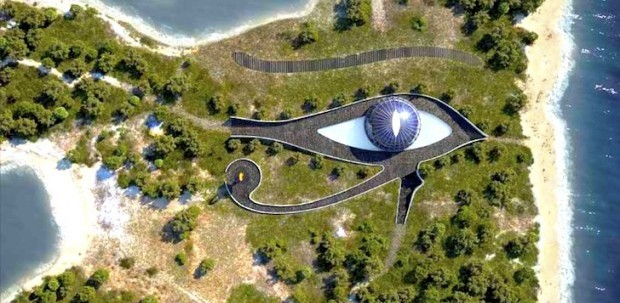 The Personal Mega-Sized Eye of Horus: Naomi Campbell's Eco-Mansion