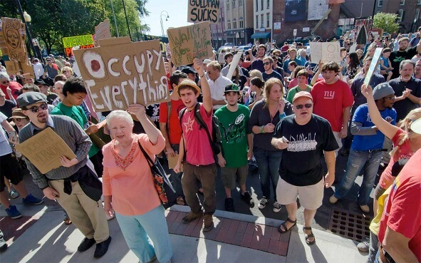 Occupy Wall Street Movement Moves Forward, Occupy George Bills Pave The Way