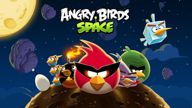 Angry Birds Heading Towards Space