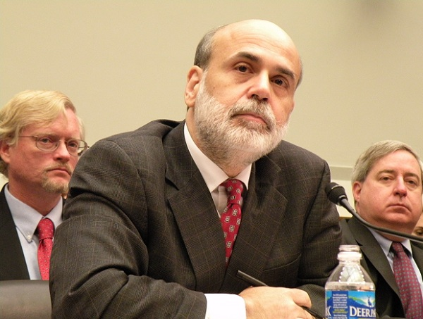 Ben Bernanke Cautions on Slow Growth of Job Market