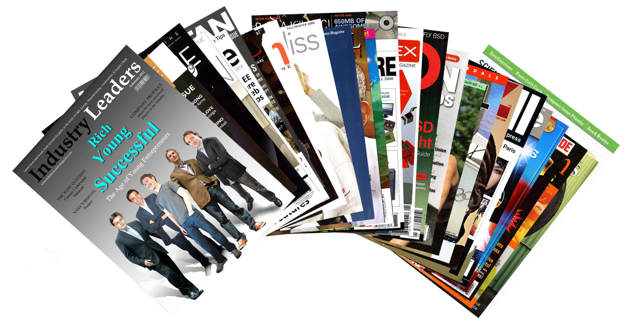 Art Calendar Business Magazine : Advertising with an online business magazine industry