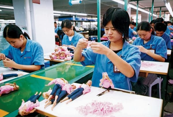 China's manufacturing index moving downhill