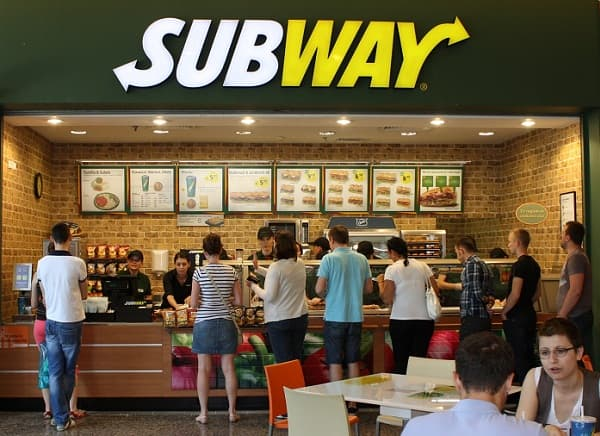 Subway: The Largest Restaurant Chain With 36860 Restaurants