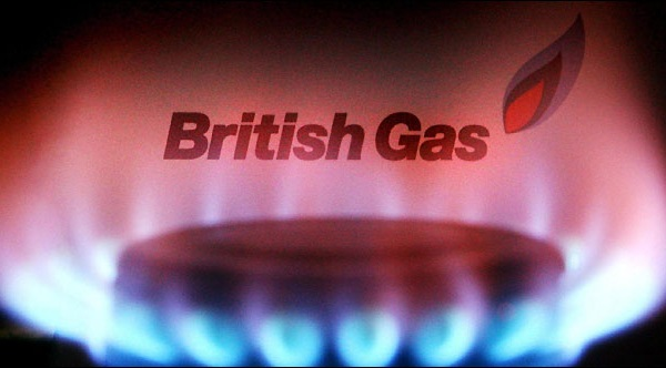 British Gas posts profits in the first half.