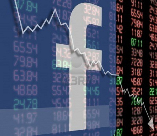 Facebook Shares Hit Record Low