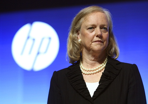 Hewlett-Packard sales drop as a result of slumping demand for PC