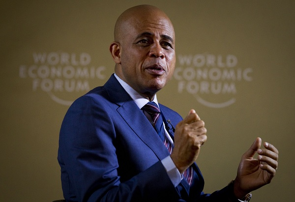 Michel Martelly, the Haitian President