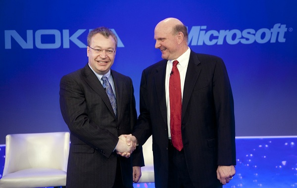 Microsoft and Nokia Team Up to launch a windows 8 smartphone.