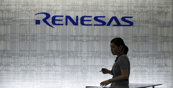 Japanese government to have taken a bailout of Reneseas Electronics