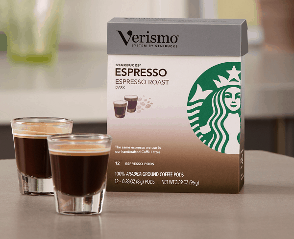 "Starbucks introduces ""Verismo"" brewer for $199"