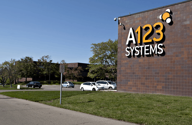 A123, Obama-backed battery maker, files for bankruptcy