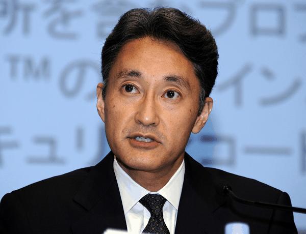 Kazuo Hirai, CEO at Sony Corp.