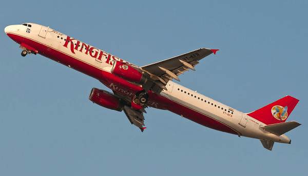 Employee unrest causes Kingfisher airlines flights to be cancelled