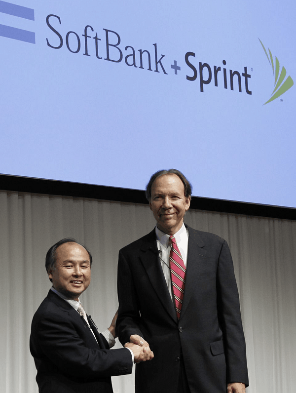 Softbank Corp nears a deal of $20 billion for acquiring 70% of Sprint