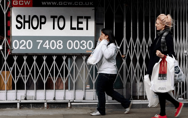 Wraiths of empty stores haunt UK high streets