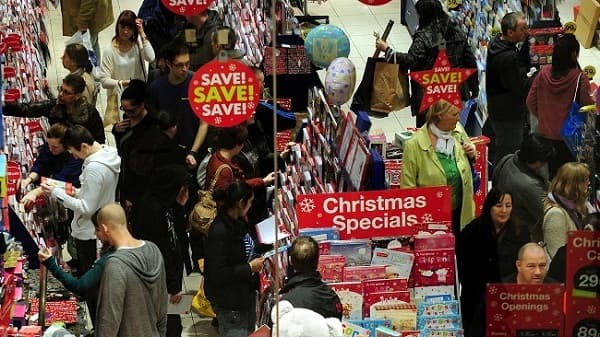 Britons cut Christmas spending over economic fears