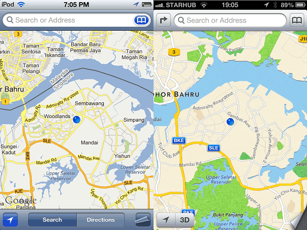 Apple's iPhone welcomes Google Maps app's return