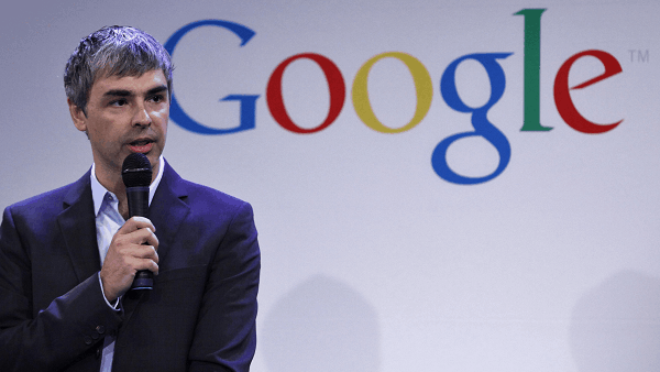 Larry Page, chief executive officer at Google Inc.
