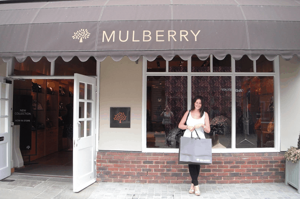 Mulberry like-for-like sales improve after weak first-half results