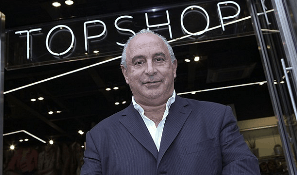 Sir Green to sell 25% in Topshop to US equity firm