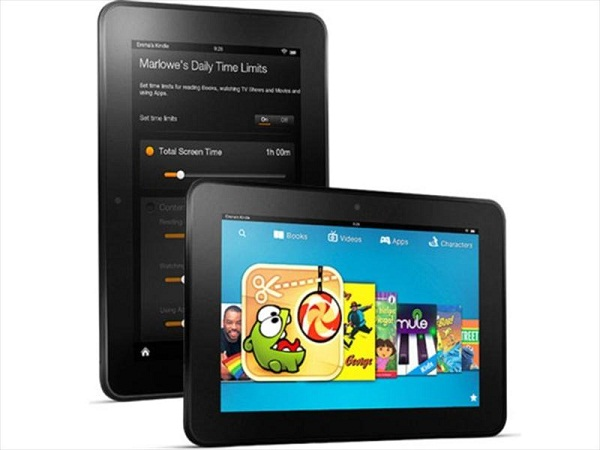 The Amazon's Kindle Fire HD tablet