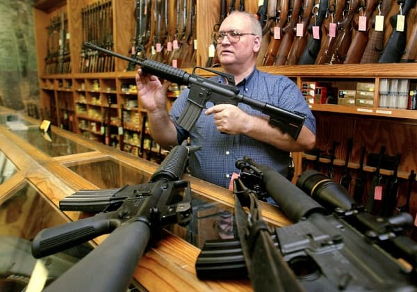U.S. firearms makers' stock decline after Newtown shooting