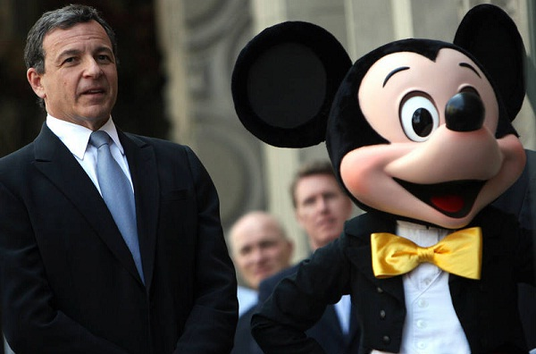 Disney CEO Robert Iger gets 20% increase